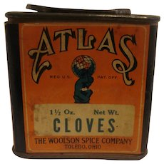 Atlas Cloves Spice Tin