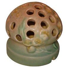 Roseville Pottery Flower Frog Ixea