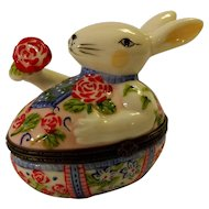 Villeroy & Boch Rabbit Trinket Box