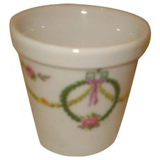 Limoges Porcelain Flower Pot