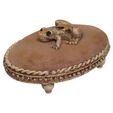 Vintage Florenza Frog Pin cushion