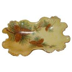 J. P. Limoges Porcelain Pinecone Dish