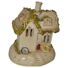 Staffordshire English Pottery Pastille Incense Burner