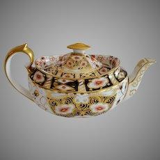 Teapot ~ Imari 5500 Pattern ~ Aynsley Bone China England ~ Stoke on Trent Prior to 1891