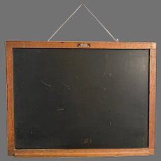 Slate Blackboard  No.32 Educational  1892 to mid 1920's