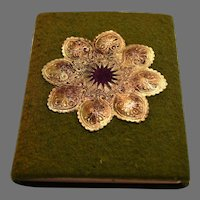 Home Decoration~Felt Cover with Gold Embellishments by Dorothy Tuke Priestman, Philadelphia: Penn Publishing Co.,1915