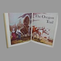 The Oregon Trail by Francis Parkman, Thomas Hart Benton (illustrator). Garden City, New York: Doubleday & Co., 1946.