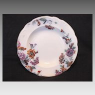 "Wonderful English Multi-Colored Transferware Bowl ~ Pattern ""Padora"" ~ Ridgways 1930-1940"