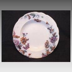 "Wonderful English Multi-Colored Transferware Bowl ~ Pattern ""Padora"" ~ Ridgways 1930-1940"