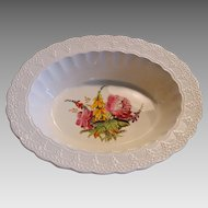 Oval 1 QT Vegetable Bowl ~ Heath & Rose  ~ Spode Jewel by Copeland Spode patented 1926