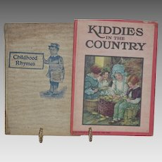Childhood Rhymes _ by James Cromwell William Craig age 8 1903 / Kiddies in the Country 1926