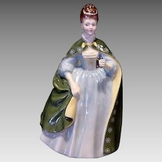 """Royal Doulton Figurine """"PREMIERE""""  HN2343 ~ Signed by Artist ~ Designed By Peggy Davies 1967"""