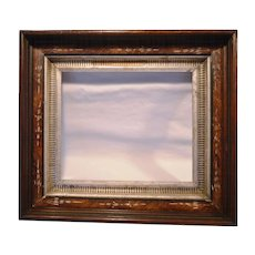 50%OFF Rich Walnut Eastlake Style Picture Frame