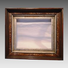 Rich Walnut Eastlake Style Picture Frame