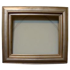 Old Wood Gold Picture Frame
