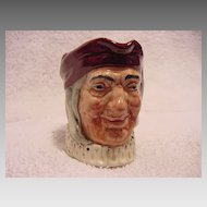 Royal Doulton Character Jug ~ Simon the Cellarer ~ by Charles Noke and Harry Fenton, issued 1935 - 1960
