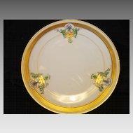 "Attractive Pickard Studio Hand Painted Art Nouveau White & Blue Morning Glory Design Porcelain Plate 6 ¾"" – 1912-1918"