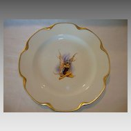 UNIQUE Limoges Porcelain Cabinet Plate ~ Pixie or Fairy transfer ~ Haviland France 1894-1931
