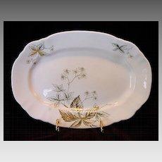 "English Platter ~ ""Virginia Pattern"" John Edwards England 1891"