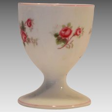 Shelley Bone China Egg Cup ~ Rose Spray / Bridal Rose Pattern 13545~ Dainty Shape ~ Shelley England 1940-1966