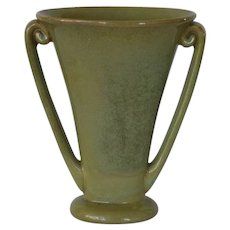 Beautiful Fulper Art Pottery Vase  ~ Mold 724 ~ Fulper Pottery Flemington, New Jersey 1922-1928