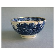 Caughley (Salopian) Blue and White Bowl ca. 1795