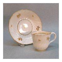 British Porcelain Cup/Saucer ca. 1800