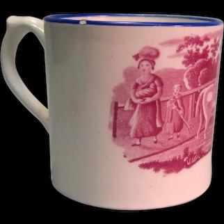 Child's Transfer Mug ca. 1830