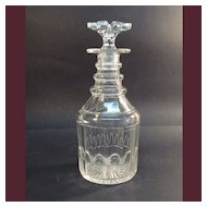 Nineteenth Century Cut Glass Decanter