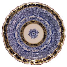 Royal Worcester Lily Pattern Plate ca. 1870