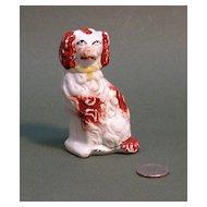 Small Staffordshire Spaniel Figurine