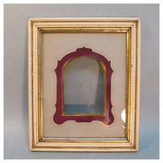Victorian Frame with Gilt Edge Mat