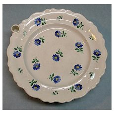 Nineteenth Century Warming plate
