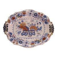 """English """"Stone China"""" Tray ca. 1825"""