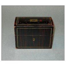"Nineteenth Century ""Faux Bois"" box"