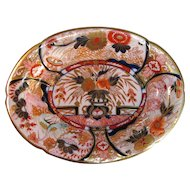 "English Porcelain ""Japan"" Tray ca. 1820"
