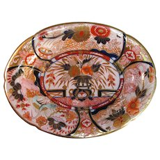 "English Porcelain ""Japan"" Tray ca. 1820"