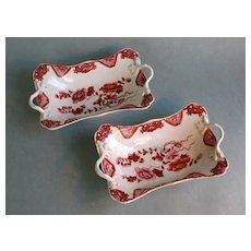 Pair Porcelain Dessert Compotes circa 1820