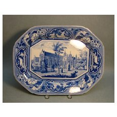 Ridgway Oxford Views Platter ca. 1835