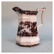 "Mulberry Ironstone Creamer ""Corean"""