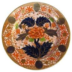 "English Porcelain ""Japan"" Plate ca. 1815"