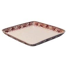 Creamware Diamond Shape Dish ca 1810