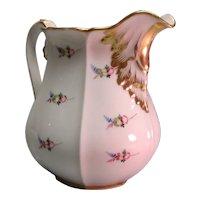 """Large """"Paris"""" Porcelain Pitcher ca. 1850"""