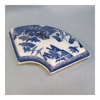 Pearlware Supper Dish Section