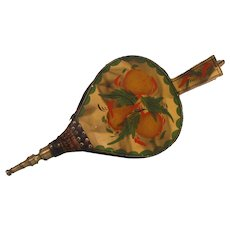 19th Century Smoke Decorated and Painted Bellows