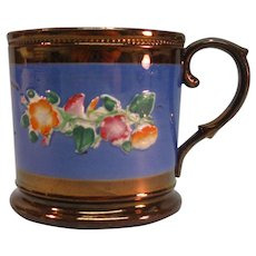 Copper Luster Mug ca. 1845