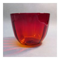 Amberina Deep Bowl