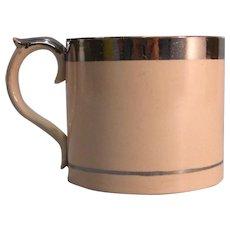 Silver Luster Trim Cider Mug ca. 1820-35