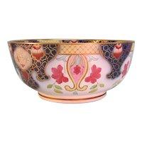 "Large English ""Japan"" decorated bowl circa 1825"