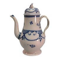 Pearlware Coffee Pot ca. 1790-1800
